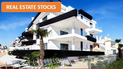 Top 3 stock bets for the real estate sector